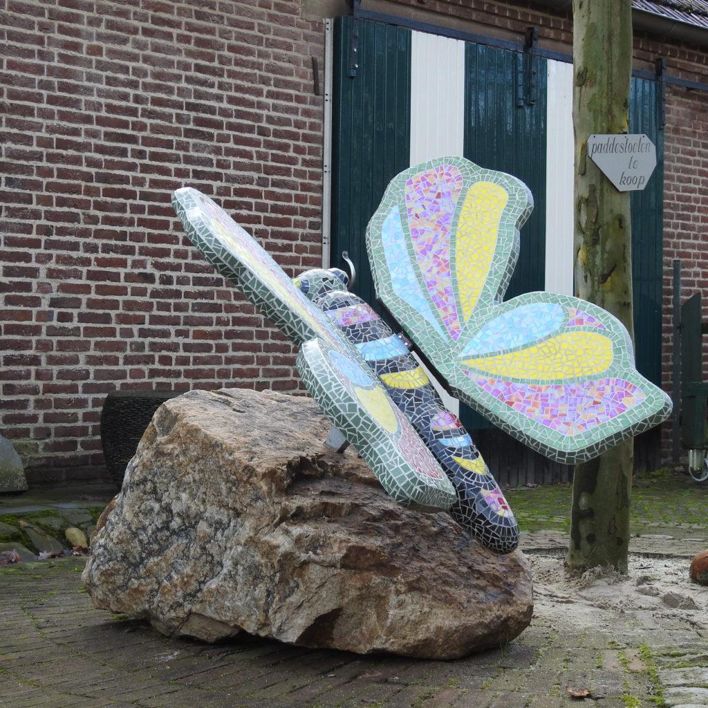 mozaiek vlinder kuulkes
