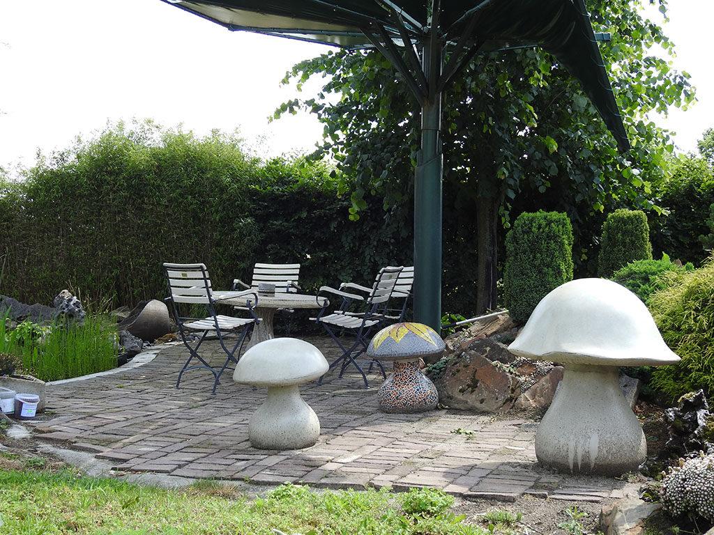 paddenstoelen openbare ruimtes