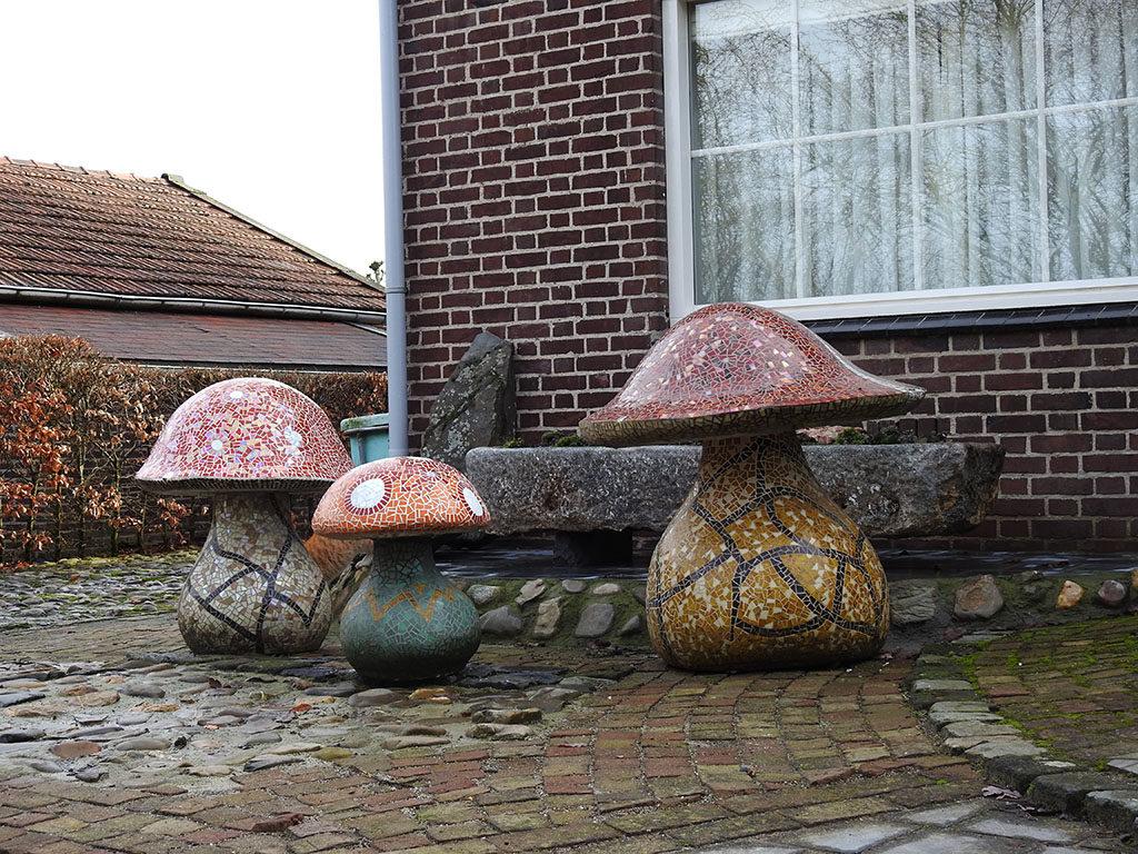 paddenstoelen mallenmakerij