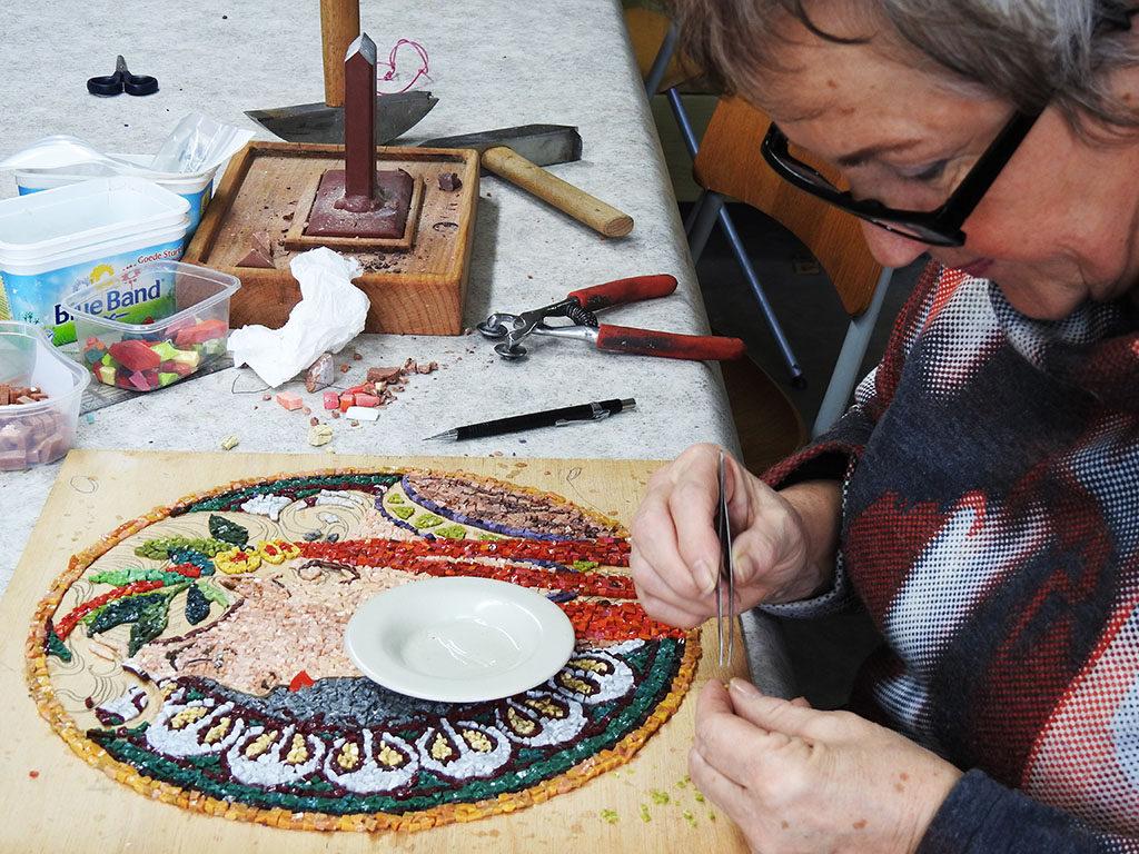 mozaiek/smalti Kuulkes Kunst Atelier