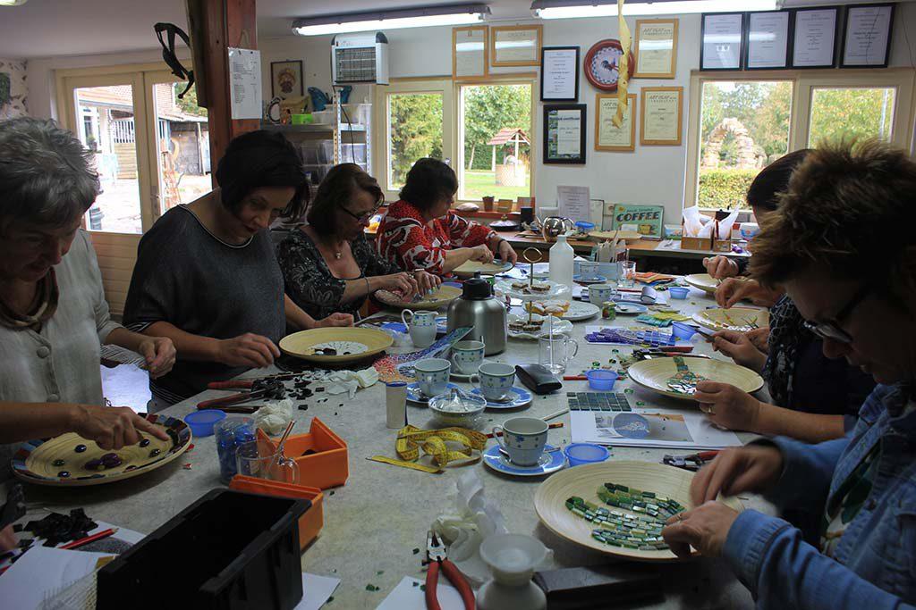Workshop Mozaiek Kuulkes Kunst Atelier