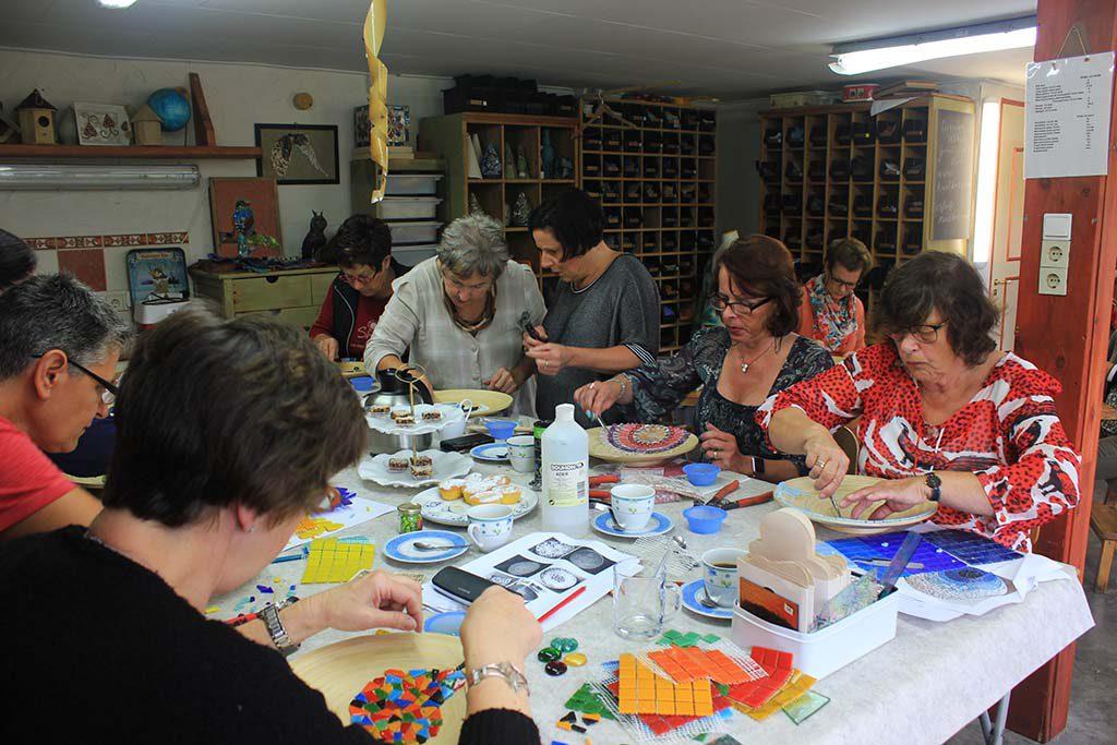 Workshop Mozaiek met High Tea