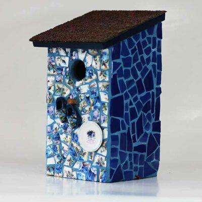 Vogelhuisje mozaiek