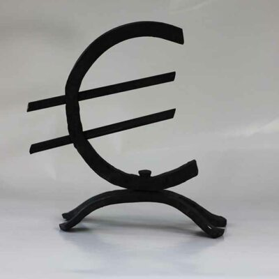 Euroteken gesmeed
