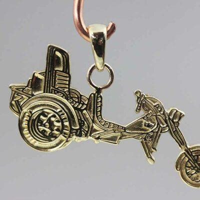 Hanger Trike Goud